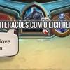 [Cavaleiros do Trono de Gelo] 19 interações na luta do Lich Rei