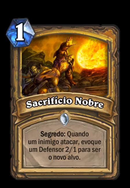 Sacrifício Nobre