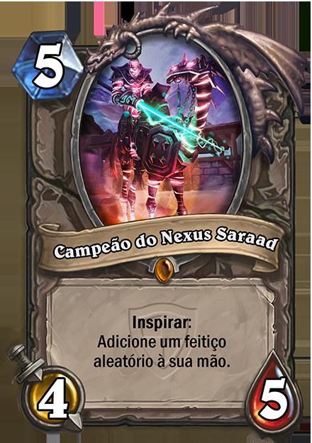Campeao do Nexus Saraad