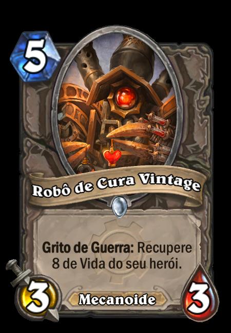 Robô de cura vintage