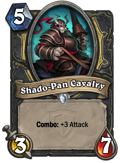 SHADO PAN CAVALRY