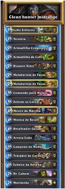 Clean hunter midrange