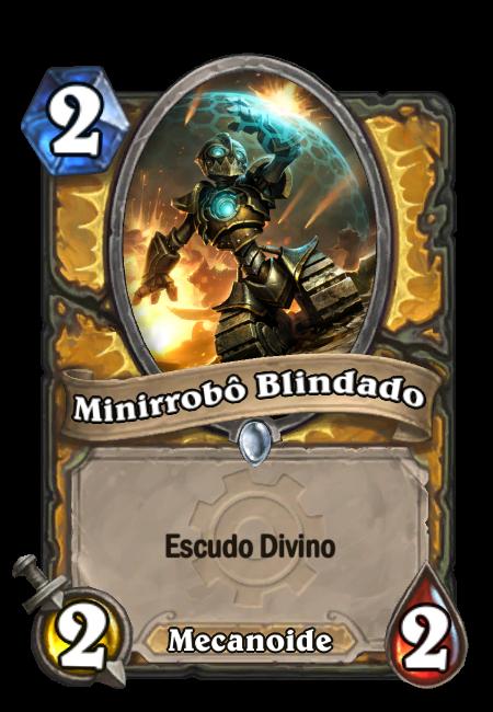 Minirrobô Blindado