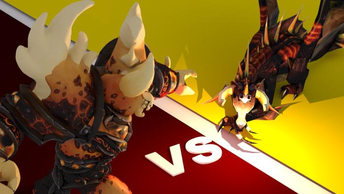 Ragnaros vs. Nefarian