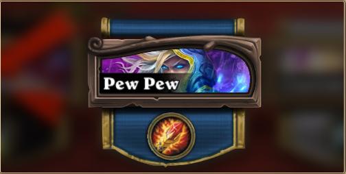 standard pew pew