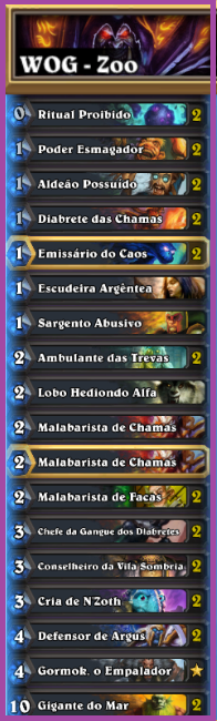 WoG zoolock, deck