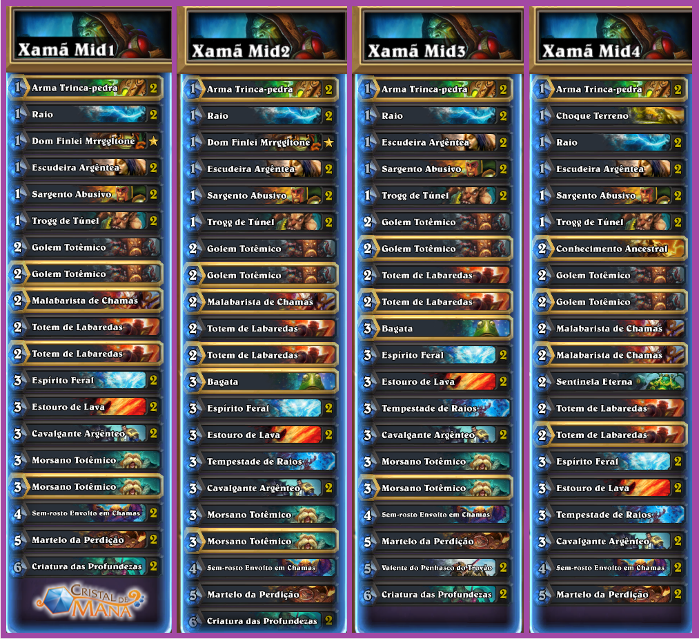 DECKS XAMÃ MIDRANGE SEASON 26