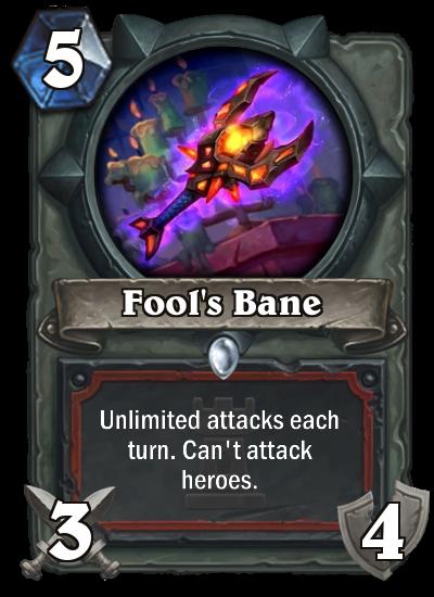 fool's bane