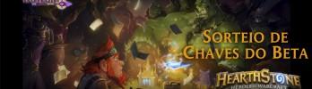 Sorteio: Chaves beta de Hearthstone!