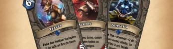 Heróis de Overwatch como cartas de Hearthstone