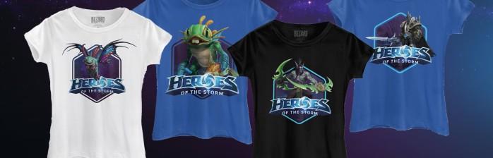 Camisetas oficiais da Blizzard? Temos sim senhor!