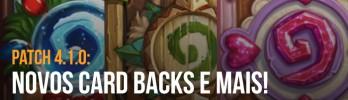 Novo patch 10956: Bug do Raptor Resolvido, Novos Cardbacks e mais !!!