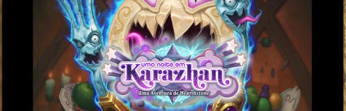 Cartas reveladas de Uma noite em Karazhan: Mago e Bruxo